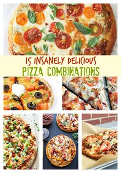 15 Insanely Delicious Pizza Combinations