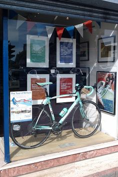 Marc Evans Design: Window display for the Tour of Britain