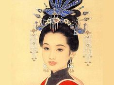 """aiforai: """"  Hair ornaments such as hair pins, hair clasps and crowns were everyday embellishments of women in old China. During the Ming (1368-1644) and Qing Dynasties (1644-1911), women's hair ornaments expressed traditional Chinese thought and..."""