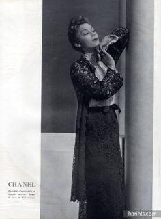 Chanel 1938 Ensemble en Dentelle