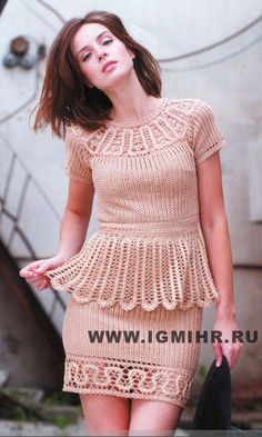 Crochet skirt and top…..with Bruges crochet..