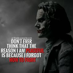 23 Joker quotes that will make you love him more I know that's right Dark Quotes, Strong Quotes, Wisdom Quotes, True Quotes, Great Quotes, Positive Quotes, Motivational Quotes, Inspirational Quotes, Bipolar Quotes