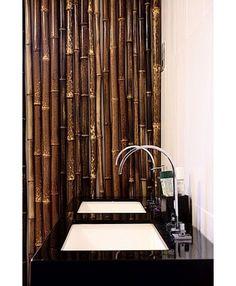 asian bathroom colour scheme textures | Asian Bathroom bamboo bathroom