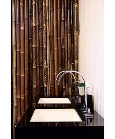 asian bathroom colour scheme textures | Asian Bathroom bamboo bathroom