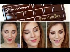 3-looks-in-1: Too Faced Chocolate Bar Palette