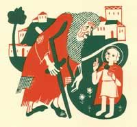Gentle stories in the waldorf tradition for the days before St Nicholas Day, Dec 6.
