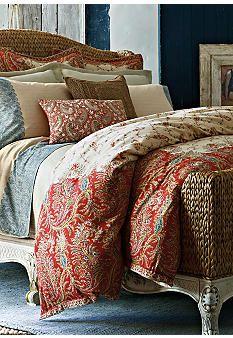 Lauren Ralph Lauren Home Mirabeau Paisley Bedding Collection.