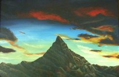 Lonely Mountain by Ronda Wiebe - Artist