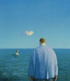 Michael Sowa - woman in the sea