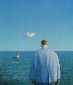 Michael Sowa - woman in the sea