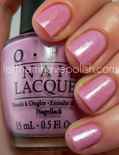 OPI Holland Collection ~ Pedal Faster Suzi