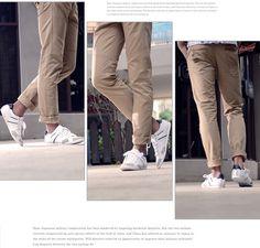 white sport sneakers for men