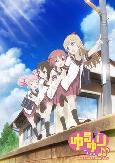 Yuru Yuri Bluray [BD] | Episodes + Special | 480p 40MB | 720p 70MB MKV  #YuruYuri  #Soulreaperzone  #Anime