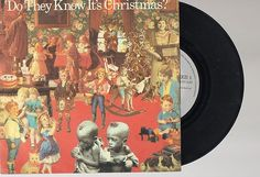"""BAND AID- DO THEY KNOW IT'S CHRISTMAS? 7"""" SINGLE 1984"""