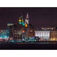 Liverpool City Christmas Cards