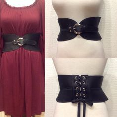 Handmade in Oregon from genuine, soft, quality leather by Laura Lee Laroux. These flew outta here the last time we had them. Adjustable, flattering and comfortable. Perfect with tops and dresses. Last