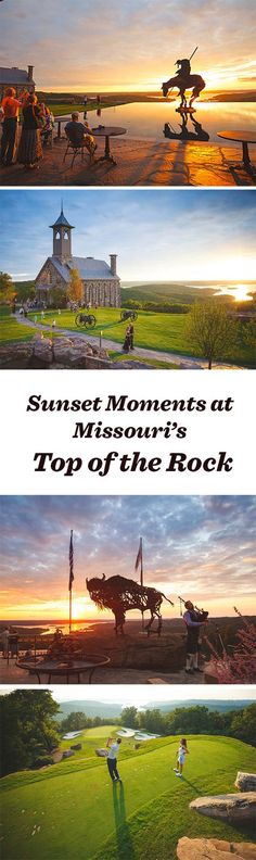 6 killer sunset moments at Top of the Rock near Branson, Missouri: http://www.midwestliving.com/blog/travel/6-killer-sunset-moments-at-top-of-the-rock/