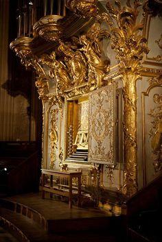 L'orgue de la chapelle royale du château de Versailles