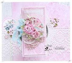 Little Birdie Card with Roses