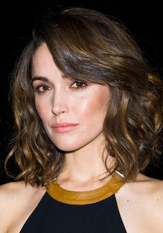 Short Hair with Brown Highlights