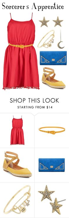 """""""Sorcerer's Apprentice"""" by waywardfandoms ❤ liked on Polyvore featuring Boohoo, Seychelles, BCBGeneration, Betsey Johnson, casual, disney and disneybound"""