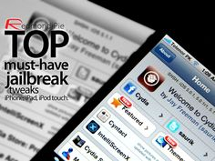 Top Must Have Tweaks For Your Newly Jailbroken iPhone, iPad, iPod touch [5.1.1 Edition]