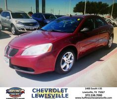 #HappyAnniversary to My New  Used Car LLC on your 2008 #Pontiac #G6 from Bert Aguayo at Huffines Chevrolet Lewisville!