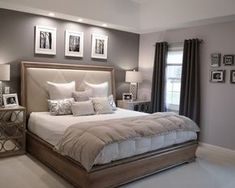 How to get new bedroom painting ideas? Pictures of Ben Moore Violet Pearl - Modern Master Bedroom Paint Colors Ideas painting ideas for master bedroom Modern Master Bedroom, Master Bedroom Design, Bedroom Designs, Master Bedroom Color Ideas, Beds Master Bedroom, Master Suite, Gray Bedroom, Bedroom Interior Design, Room Color Ideas Bedroom