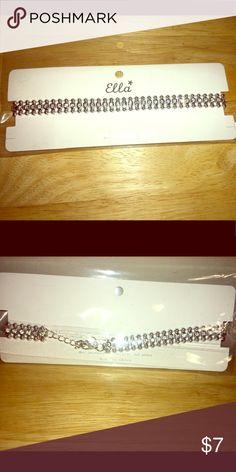 Sparkly choker. Brand new choker - sparkles! Ella Jewelry Necklaces