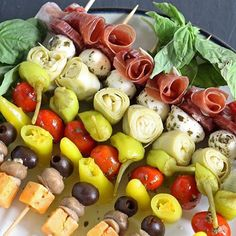 Antipasto kabobs make for a delicious and healthy snack! Try them using your favourite #SardoFoods products! #food #foodie #foodpic #ingredients #cook #chef #recipe #recipes #goodeats #healthy #health #fit #fitness #pizza #salad #healthyeating #delicious #vegetables #veggies #christmas #holidays #greek #greeksalad #toronto #vaughan #the6 #kleinburg #mississauga