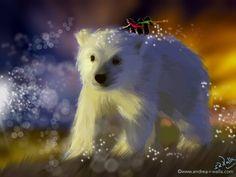Manchmal verirren sich kleine Seelen und werden von einem Feenlicht sicher nach Hause geleitet.  Make Myday die Abenteuer der kleinen Fee als Kalender und FineArt http://www.spielweltv3galerie.com/shop/make-myday/