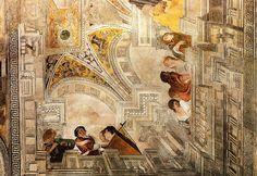 Gentileschi Orazio e Tassi Agostino Concerto con Apollo e le Muse, XVII d.C. Palazzo Pallavicini Rospigliosi, Roma - Google Search