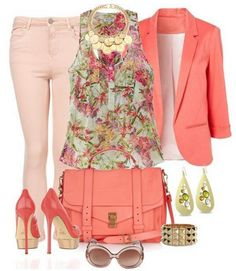 A Collection of Stylish Everyday Outfits for Spring/Summer 2018 Are you being concerned about what to wear tomorrow? We've got some fantastic outfit ideas for everyday look for your all kinds of. Fashion Mode, Look Fashion, Fashion Outfits, Womens Fashion, Fashion Design, Fashion Trends, Fashion 2014, Looks Chic, Looks Style