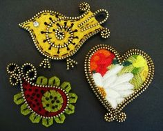 How cute is this???? Very creative creations of felt and zippers by Odile Gova from Canada (The W's:Felt/Zipper crafts)