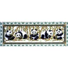 Cross Stitch Kit Panda Row From Design Works (from amazon vendor)