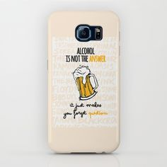 Alcohol is not the answer iPhone & iPod Case
