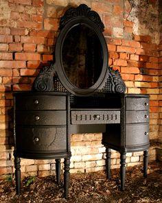 Charred Wood Finish Furniture By Yaroslav Galant | Interior Design Seminar