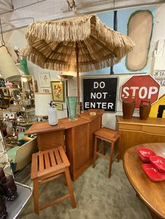 Portable Tiki Bar   Two Stools and Umbrella   $680  25% OFF  Through December 1st at Mid Century Dallas Riverfront location only.  Mid Century Dallas Booth 766  Lula B's 1010 N. Riverfront Blvd. Dallas, TX 75207  #midcenturydallas #midcenturyfurniture #tikibar #portablebar #portabletikibar #beachbar #poolbar Portable Bar, Mid Century Bar, December 1st, Pool Bar, Beach Bars, Mid Century Furniture, Stools, Dallas, Decor