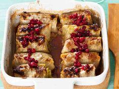 Mummolan kaalikääryleet - Reseptit I Love Food, Good Food, Yummy Food, Cooking Recipes, Healthy Recipes, Healthy Food, Cabbage Rolls, Culinary Arts, Oven Baked