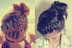 easy+braided+updo+for+medium+length+hair