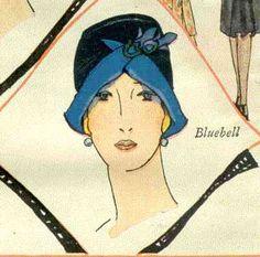 Это страница из журнала Мир, вышедшего в апреле 1928 года. Любую из шляпок можно сделать и носить с удовольствием в 2014 году. Картинки очень информативные, по ним вполне можно изготовить шляпку, или воспользоваться идеей, даже без перевода текста.