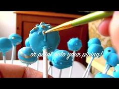 How to Make Cake Pops  http://www.cakeb0t.com/tutorials/how-to-make-cake-pops/  This cake decorating tutorial shows you How to Make Cake Pops!