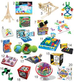 Gifts for Kids: 20 Toys for Young Brainiacs.