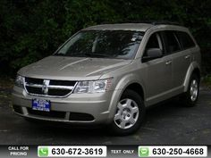 2009 Dodge Journey SE 49k miles $12,437 49274 miles 630-672-3619 Transmission: Automatic  #Dodge #Journey #used #cars #JoeCottonFord #CarolStream #IL #tapcars
