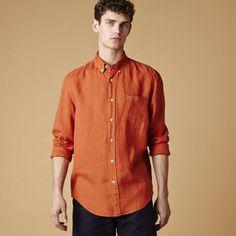 Line Shirt Orange