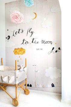 Csináld magad: rajzold tele bátran a gyerekszoba falát