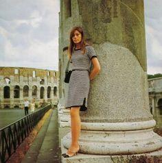 Francoise Hardy, 1960s.