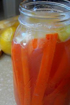 lacto fermented carrot sticks 2