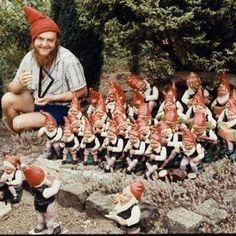 Gartenzwerge ... | ...#gnomes #gardengnomes