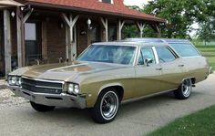 1969 Buick Skylark Sports Wagon 400 - the OTHER Vista Cruiser